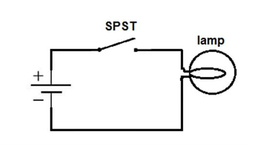 Single Pole Single Throw Switch Circuit