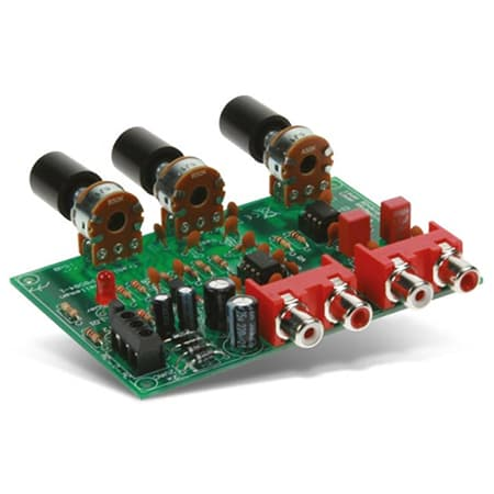 Velleman K8084 Volume and Tone Control Preamplifier Kit Review