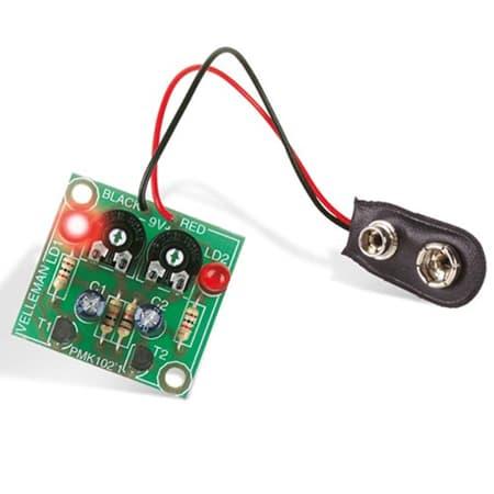 EVelleman MK102 Flashing LEDs Minikit Review