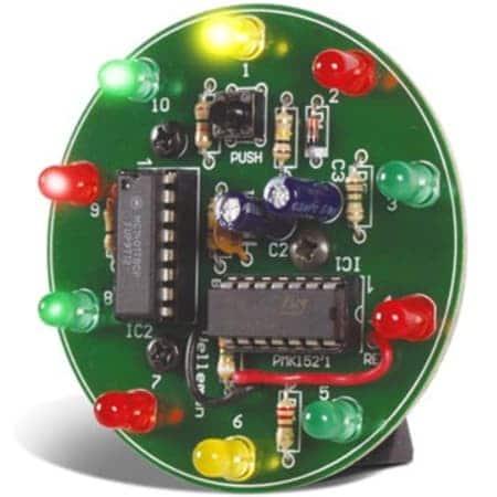 Velleman MK152 Spinning LED Wheel MiniKit Review