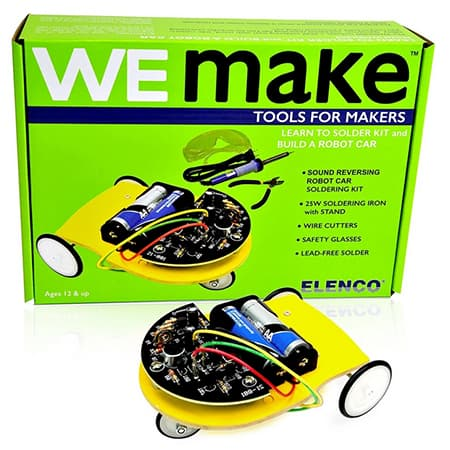 We Make Learn to Solder Kit & Build a Robot Car review