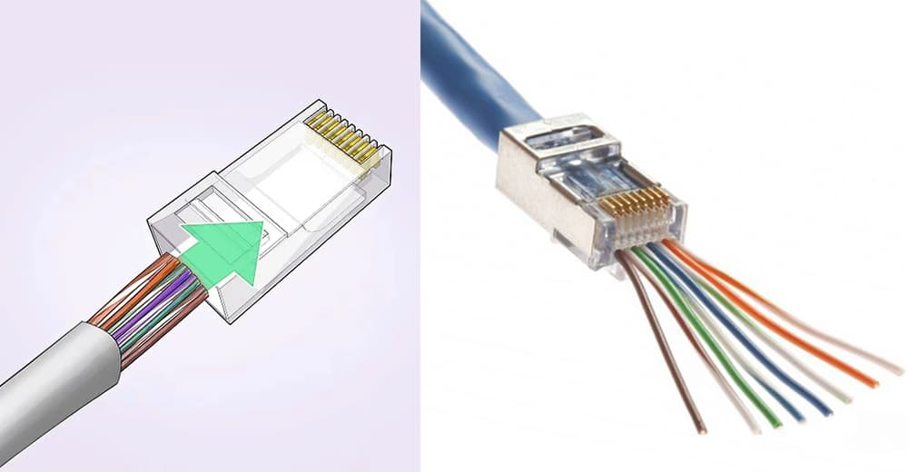 how to make a rj45 cable