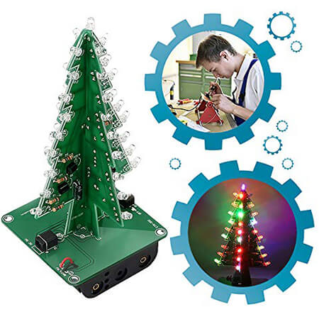 IS ICStation DIY Soldering Practice 3D Christmas Tree Review