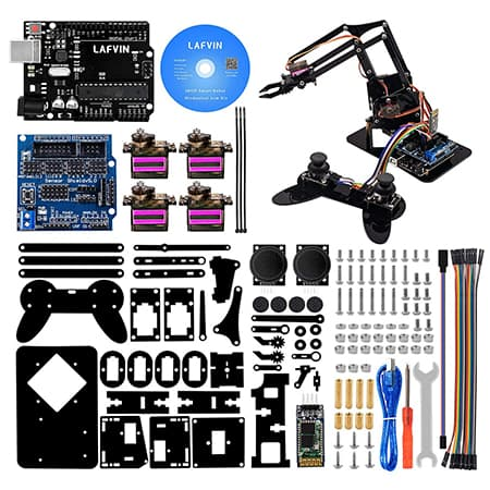 LAFVIN Acrylic Robot Mechanical Arm Claw Kit review