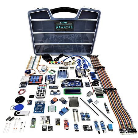 GAR Monster Starter Kit for Arduino Uno review