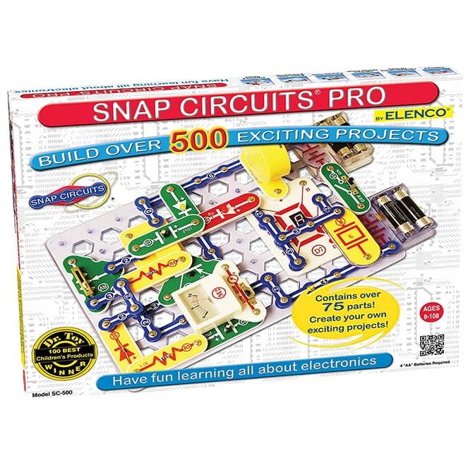 Snap Circuits Pro SC-500 review