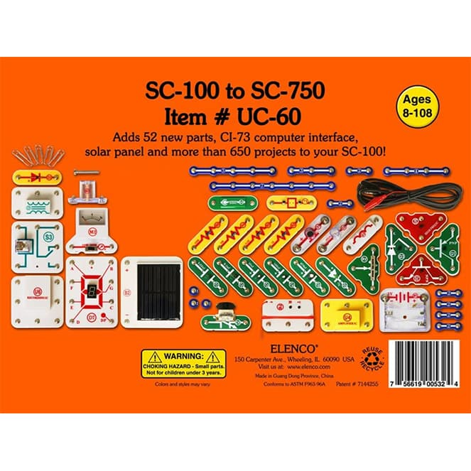 Snap Circuits UC-60 Upgrade Kit review