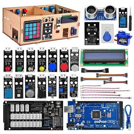 OSOYOO IoT Wooden House Learner Kit for Arduino MEGA2560 review