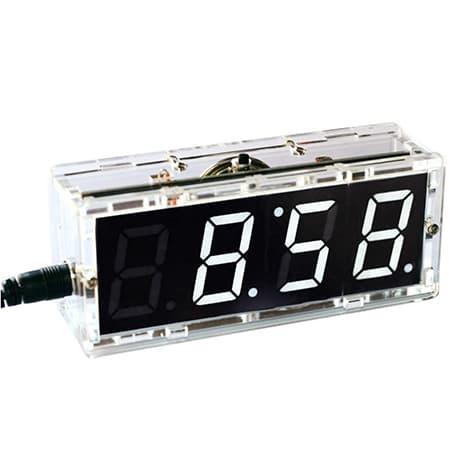 Gearwoo 4-Digital DIY Clock Kits, LED Talking Clock review