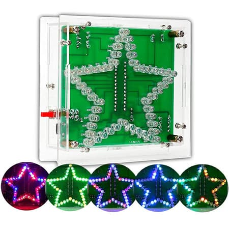 IS Icstation Electronic-Star Shaped Soldering Project kit review