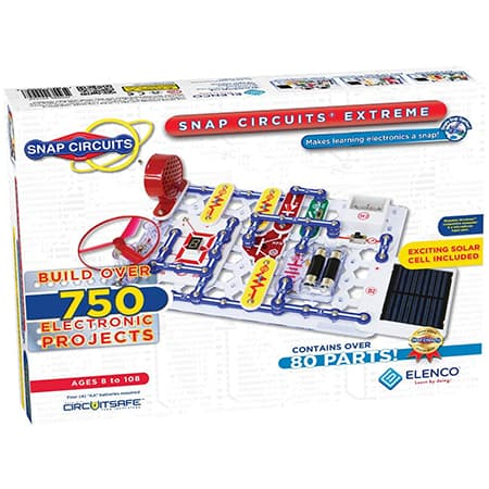 Elenco Snap Circuits Extreme SC-750 Electronics Exploration Kit review