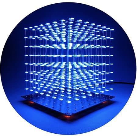3D Led Cube Light DIY Kit review
