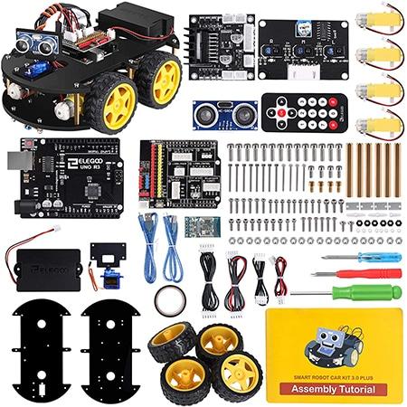 ELEGOO UNO R3 Project Smart Robot Car Kit Review