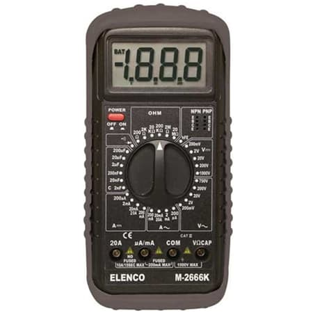 Elenco Deluxe Full Function Digital Multimeter Kit Review