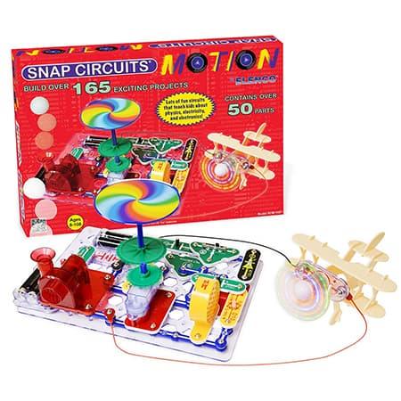 Snap Circuits Motion Electronics Exploration Kit review