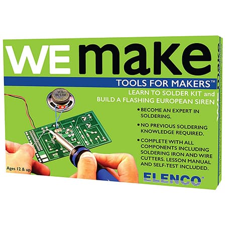 Elenco AmeriKit Learn to Solder Kit review