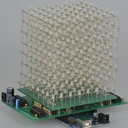 Jameco Kitpro CJKIT-20817 LED Cube Kit review