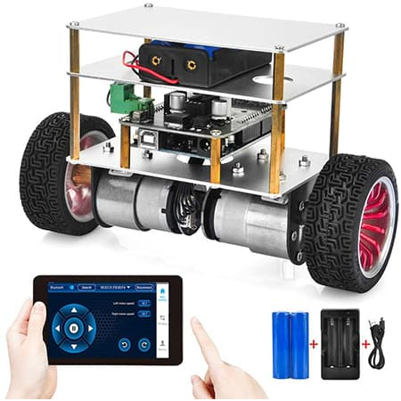 OSOYOO 2WD Balance Car Robot review