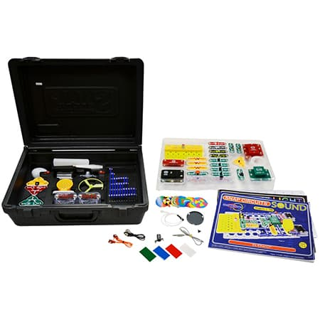 Snap Circuits Sound & Light Combo review